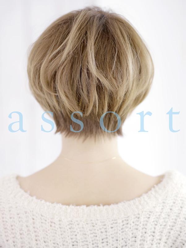 『小顔』×『シンプル』ショートヘア
