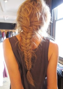 Back-View-of-Fishtail-Braid-Hairstyle
