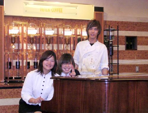 カフェ店員時代